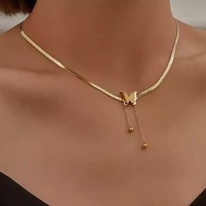 New 18k gold plated butterfly 🦋 necklace